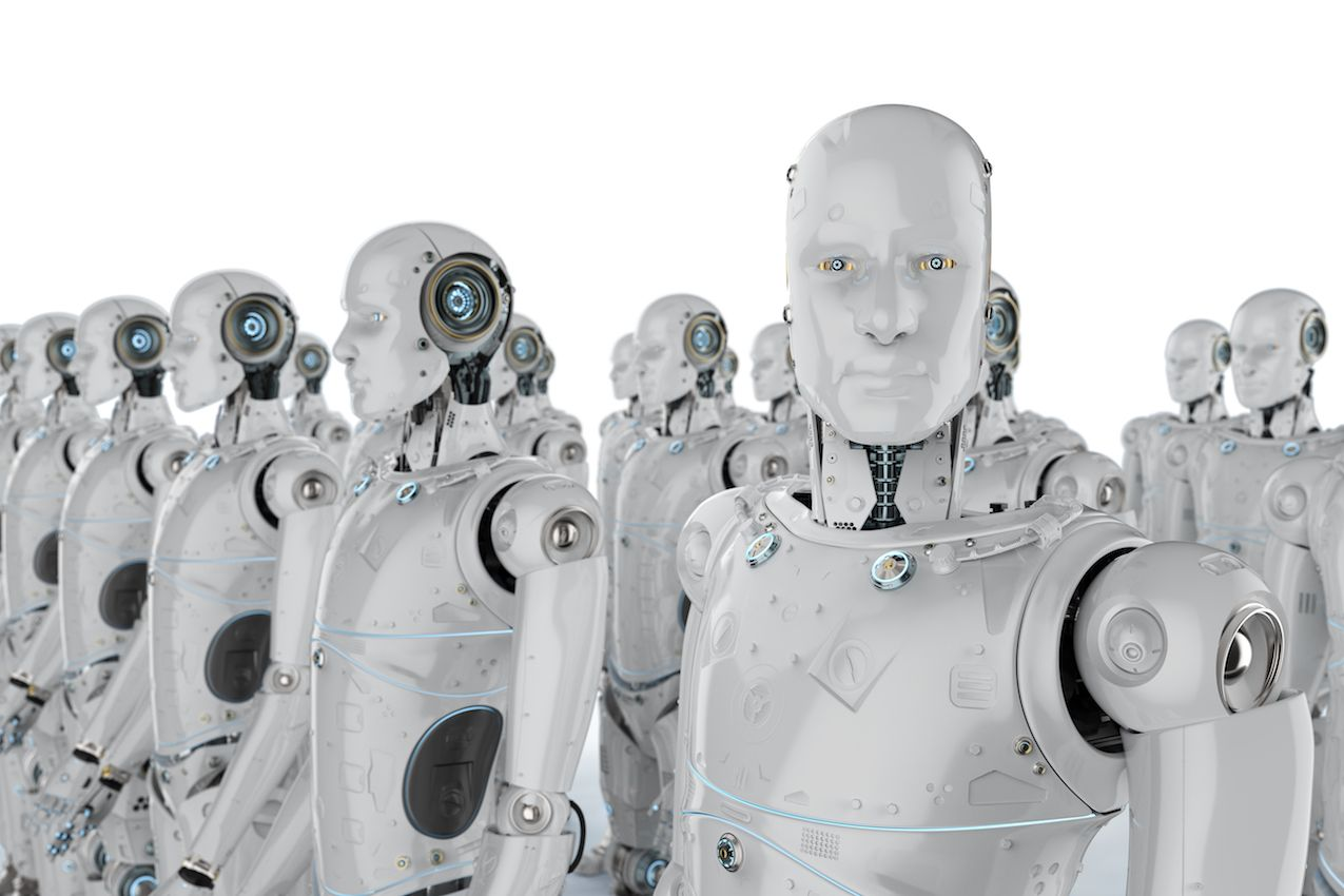 The Robots Are Coming The Robots Are Coming