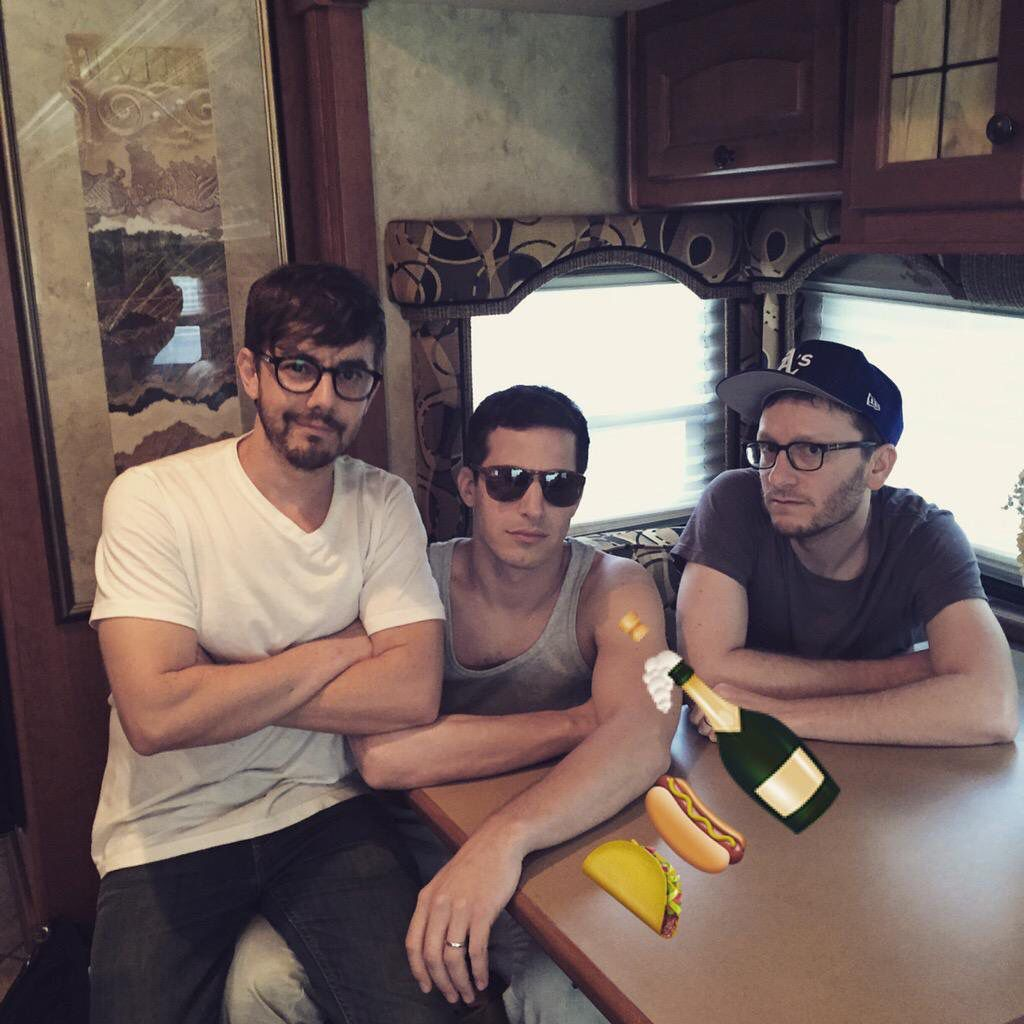 From the lonely island Twitter account