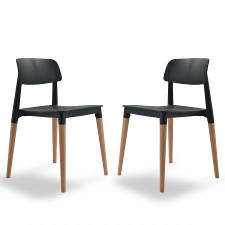 Une Chaises Au Design Intemporel D Inspiration Scandinave Sobriete Des Lignes Et Utilisation Du Bois Massif En Harmon Chaise Design Chaise Deco Chaise Cuisine
