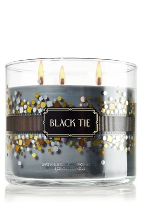 Black Tie 3 Wick Candle