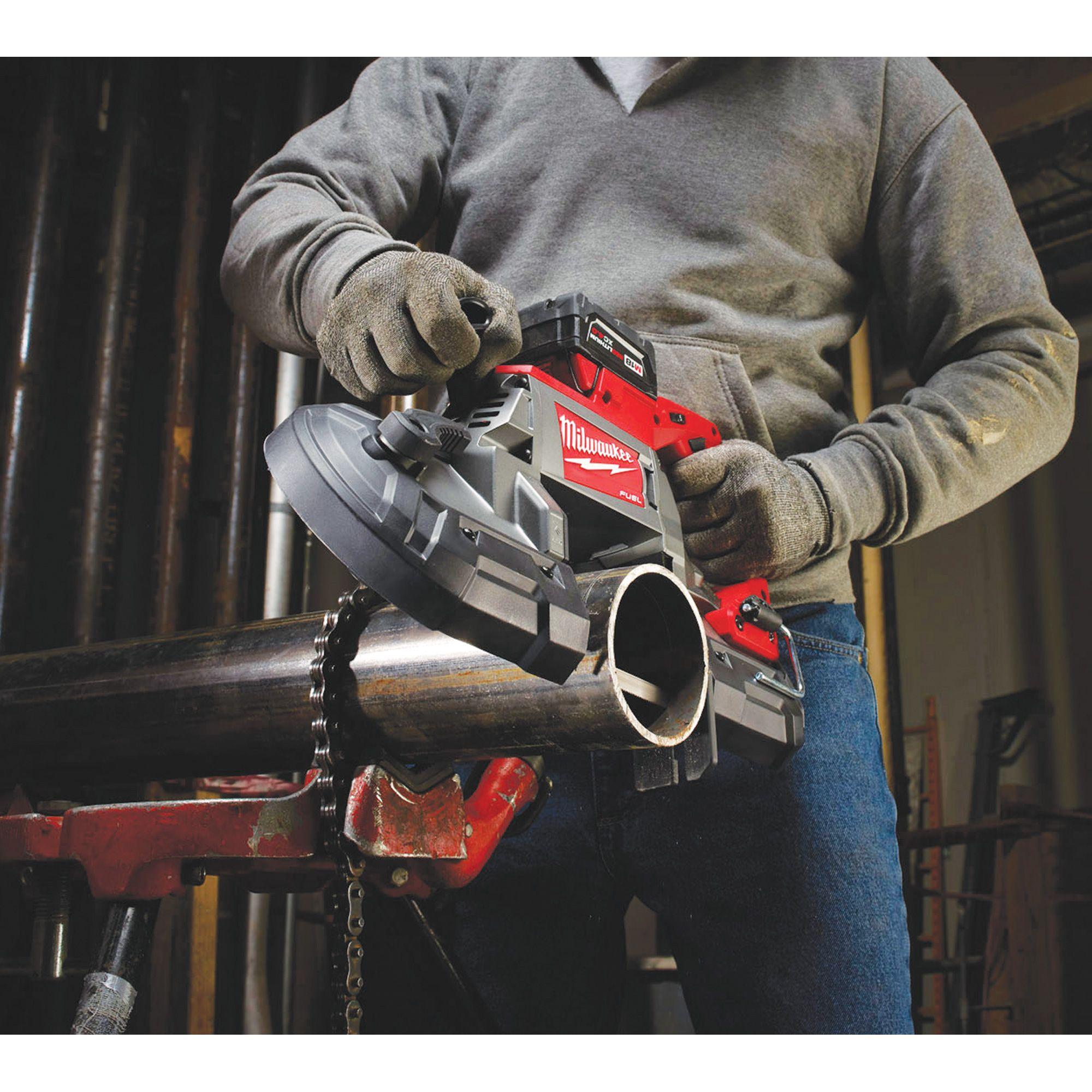 Milwaukee M18 FUEL Cordless Deep Cut Band Saw Kit 18 Volt