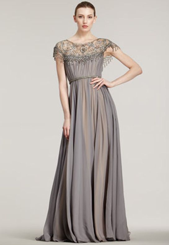 grey gown - Google Search | for Hannah | Pinterest | Grey gown ...