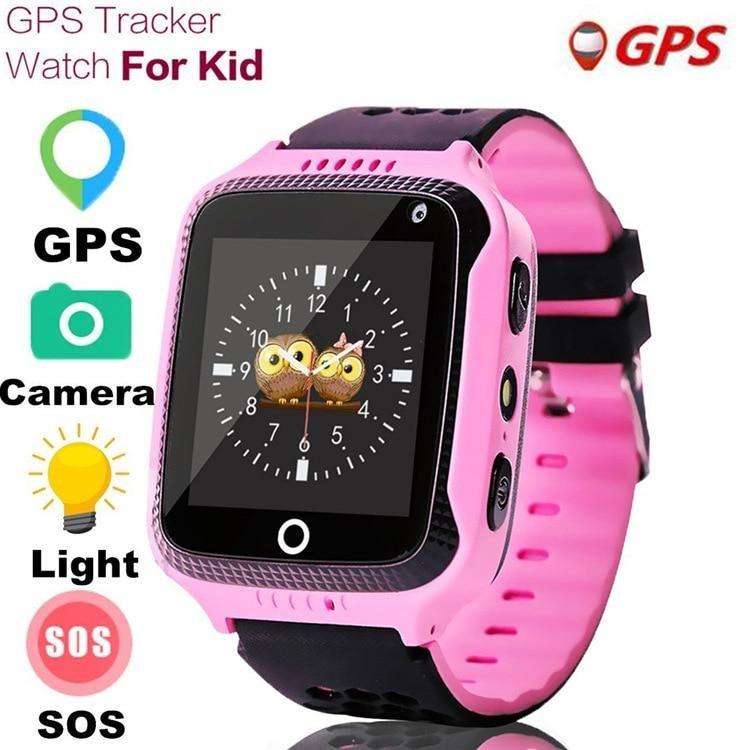 Children GPS Smart Watch With Flashlight Baby Watch 1