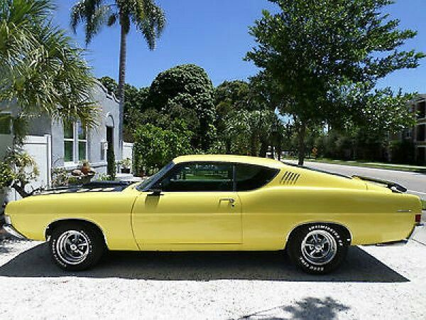 1968 Ford Torino Talladega Muscle Cars Classic Cars Muscle