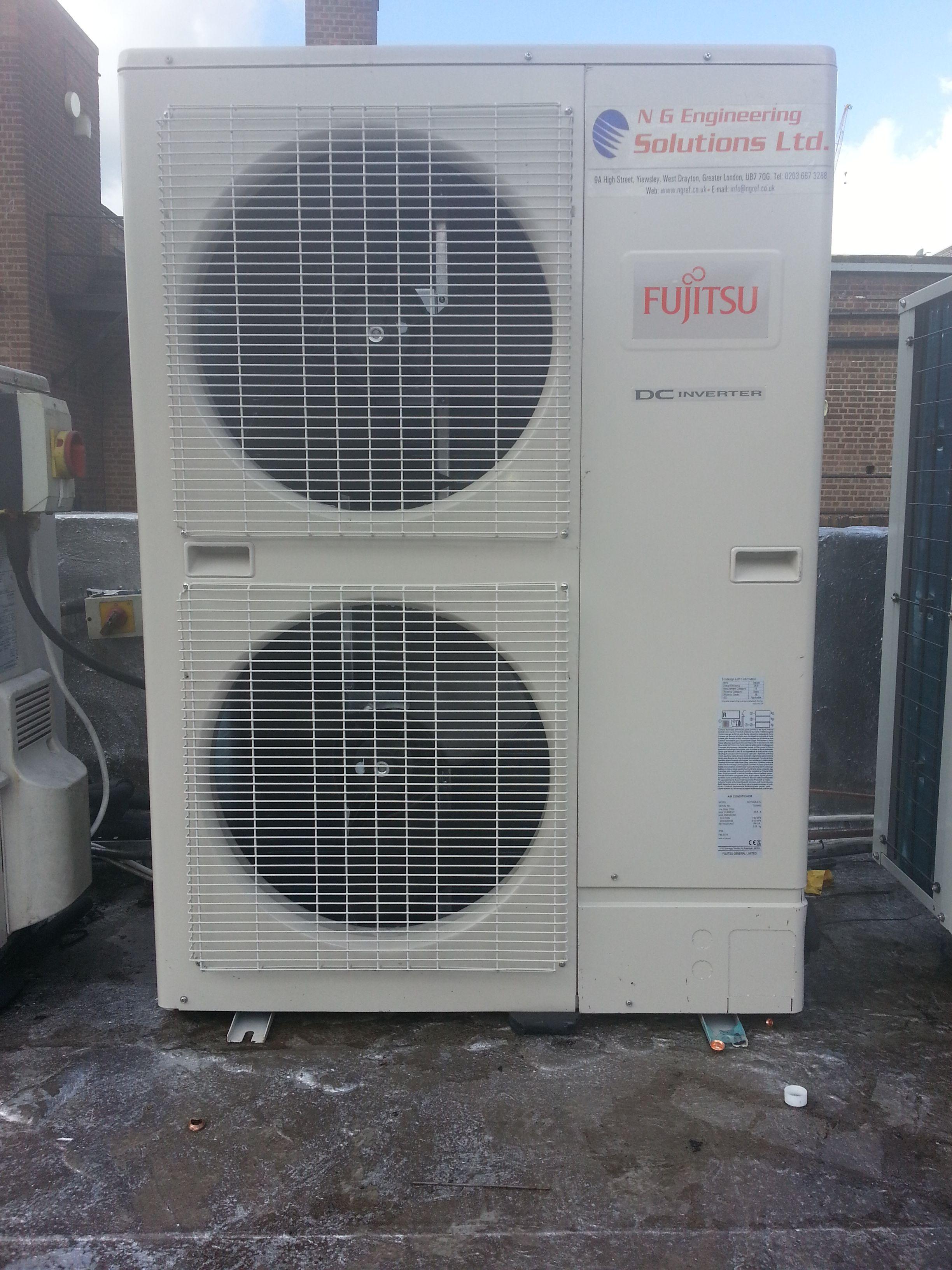 Fujitsu AC system installation New Intsallations of AC