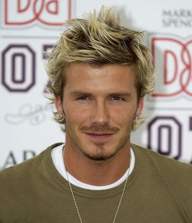 David Beckham Old Hairstyle Haircut Ideas Hair Styles Hair Cuts