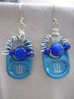 monster tab earrings