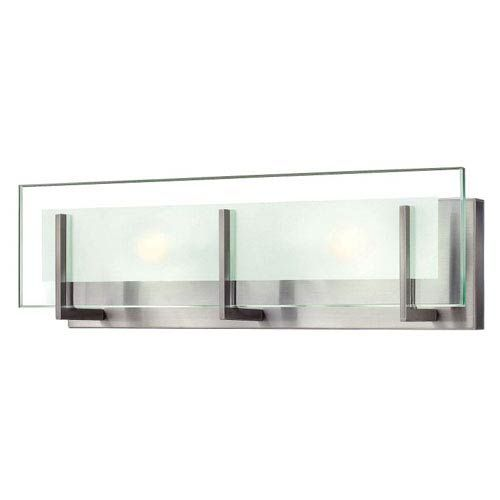 Photo of Mill & Mason Lyon 18 in. LED Vanity in Brushed Nickel – Brushed, Contemporary & Modern   Bellacor