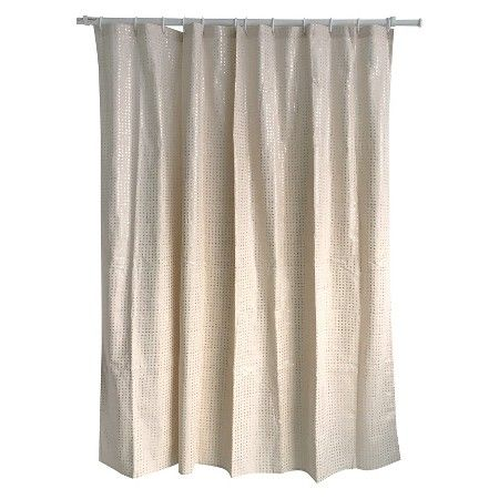 Shower Curtain Metallic Gold Print Threshold Target