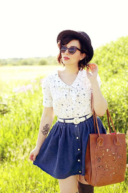 patricia nash bag, lily ashwell blouse
