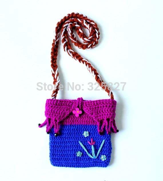 Cheap Patrón Monedero Crochet Anna Frozen Bolsa de ganchillo de la ...