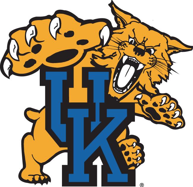 university of kentucky wildcats uk die cut logo car truck decal rh pinterest com Kentucky Wildcats Logo Stencil Kentucky Wildcats Logo Black and White