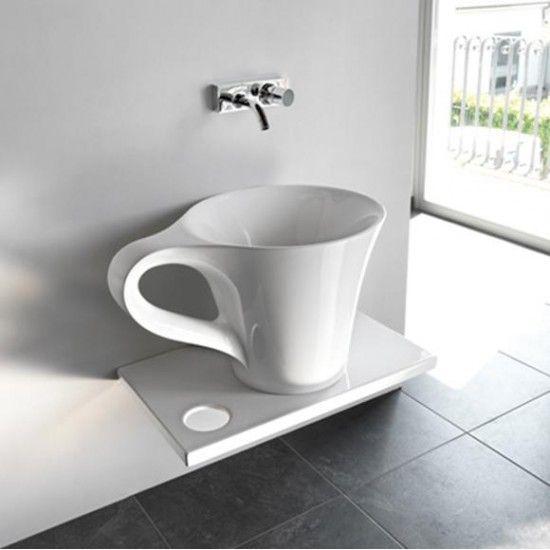 Vasque à poser ronde 45 cm en Solid surface - Doria Solid surface - Meuble Vasque A Poser Salle De Bain
