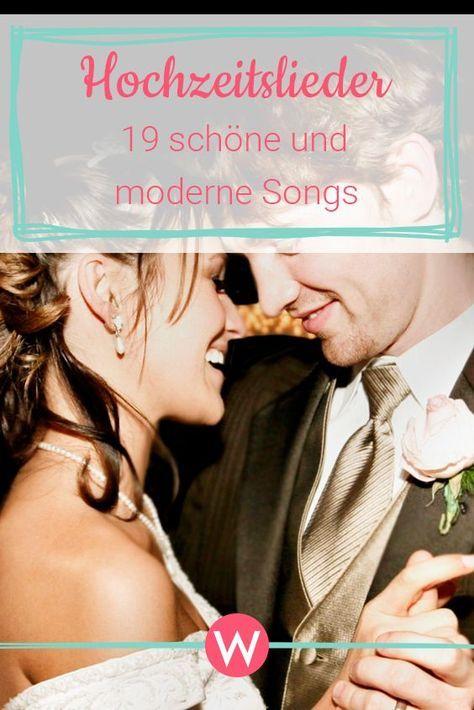 Moderne Hochzeitslieder: 19 wunderschöne Songs für euren