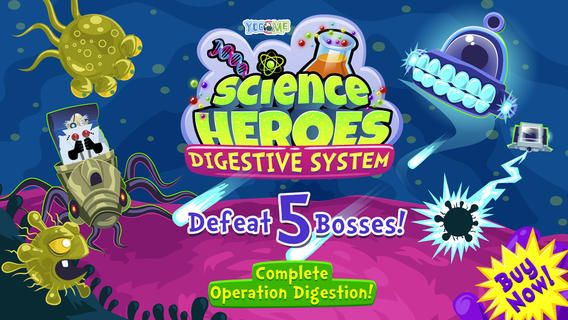 Science Heroes 1 A Fun Ios App For Learning About The Digestive