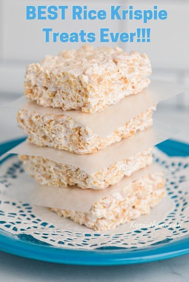 Best Rice Krispie Treats Recipe Ever - Kippi at Home ...