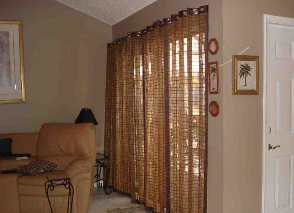 Bamboo Vertical Blinds Sliding Glass Doors Sliding Glass Door