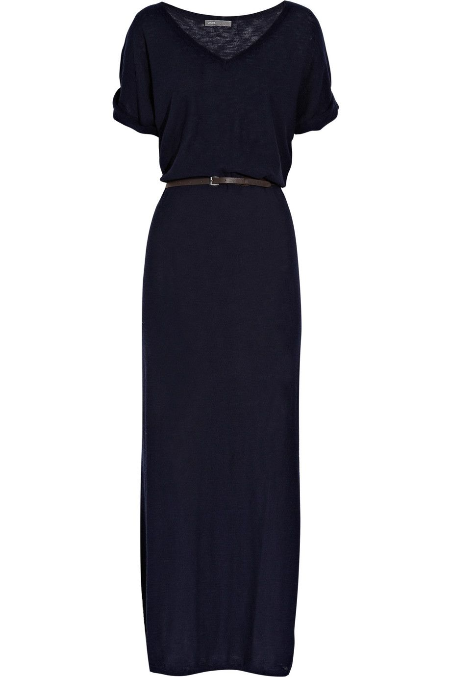 Belted cotton maxi dress para la vida pinterest cotton maxi