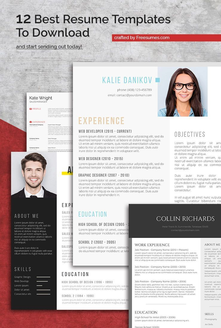 12 Best Resume Templates To Download And Start Sending Out ...
