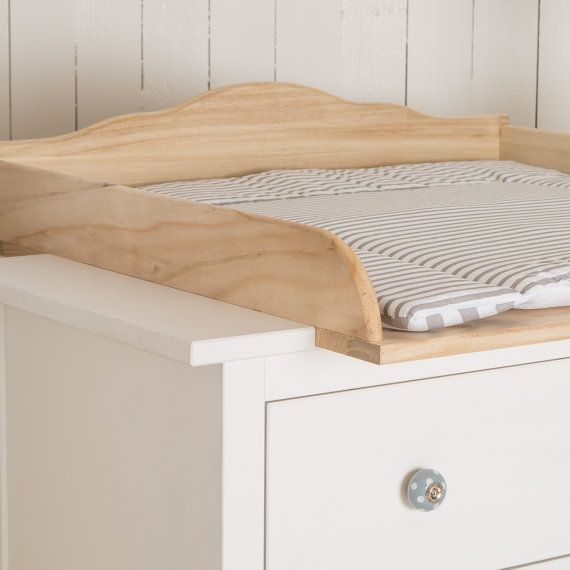 Puckdaddy Natural Wood Changing Unit Table Top Cot Top For Ikea Malm Chest Of Drawers Without Dresser Changing Unit Dresser Top Changing Pad Ikea Chest Of Drawers
