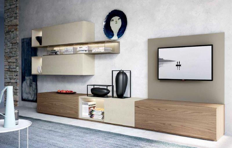 Composizioni soggiorno design ~ Composizione 509 skyline 2.0 moderno soggiorno il soggiorno