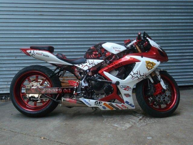 2006 Gsxr 600 Modified Super Bikes Best Motorbike Custom Sport