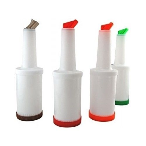 Bar Fruit Juice Containers Cocktails Party Mix Drinks Bottle Pour Canister Spout