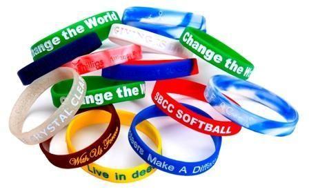 Silicone Wrist Bands Custom Bracelet Wristband