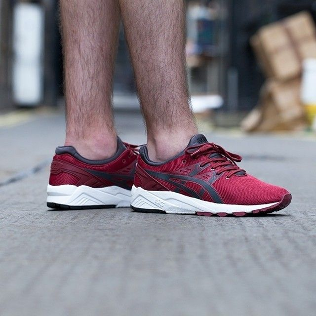 Red Mens ASICS GEL-Kayano Trainer Evo