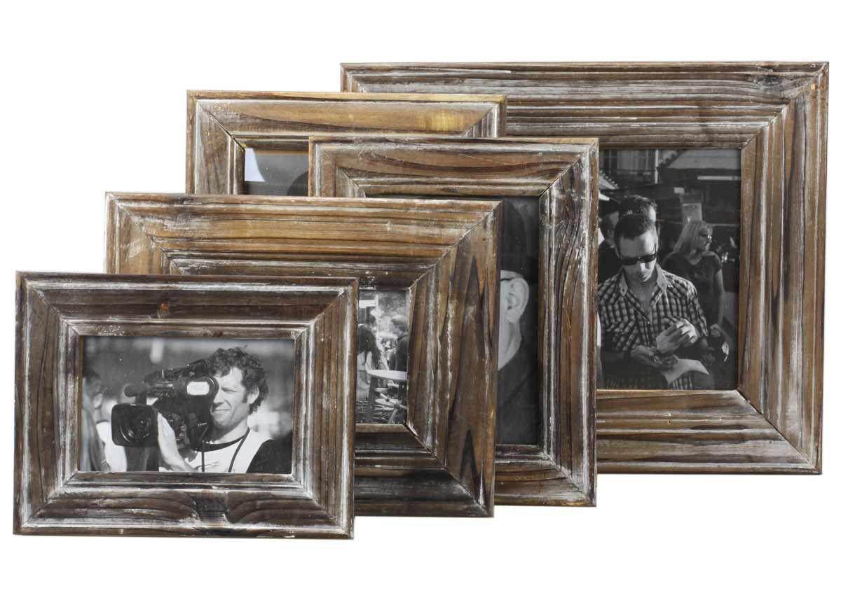 "bilderrahmen ""altholz antik braun"" shabby landhaus fotorahmen | my, Moderne"