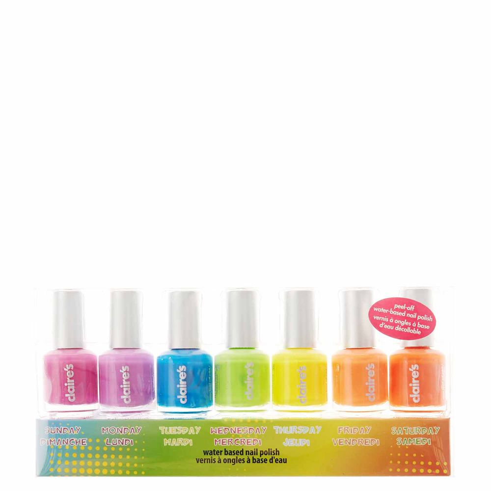 <P>A different shade for every day of the week. This 7 pack of nail…