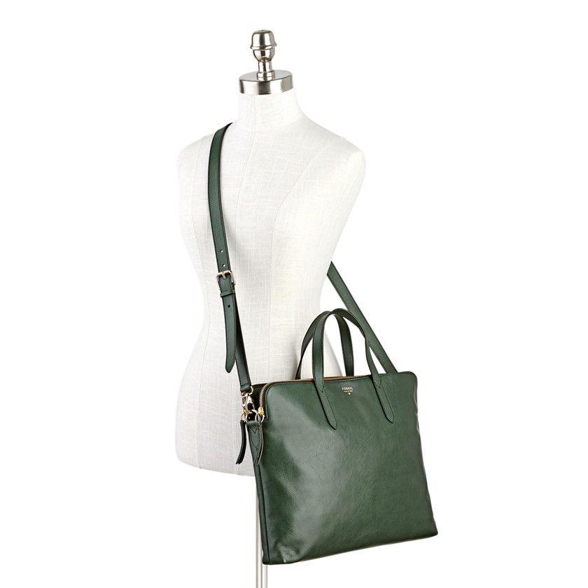 9bbcf88d33 Fossil Sydney Work Bag - FOSSIL Handbags