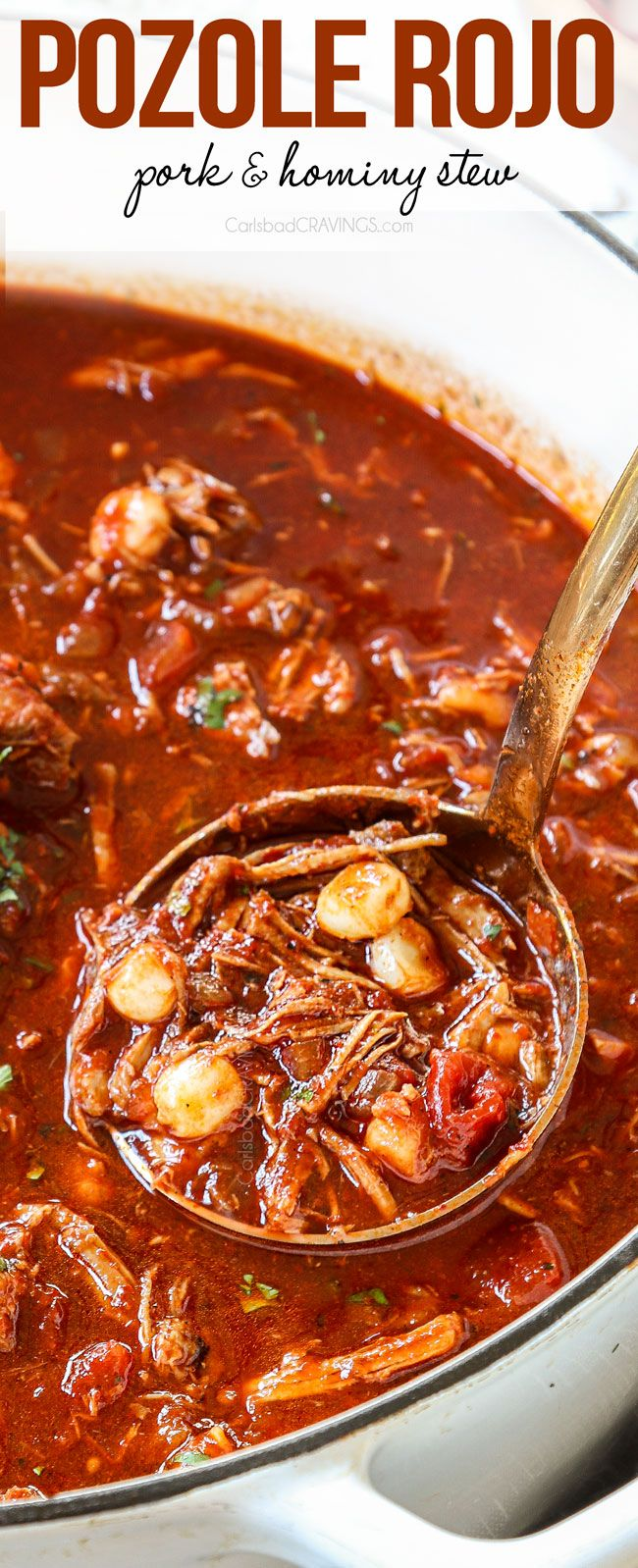 Pozole Rojo Is A Rich Bold Comforting Hearty Mexican Stew Made With Pork And Hominy That S Pract In 2020 Instant Pot Dinner Recipes Easy Soup Recipes Delicious Soup