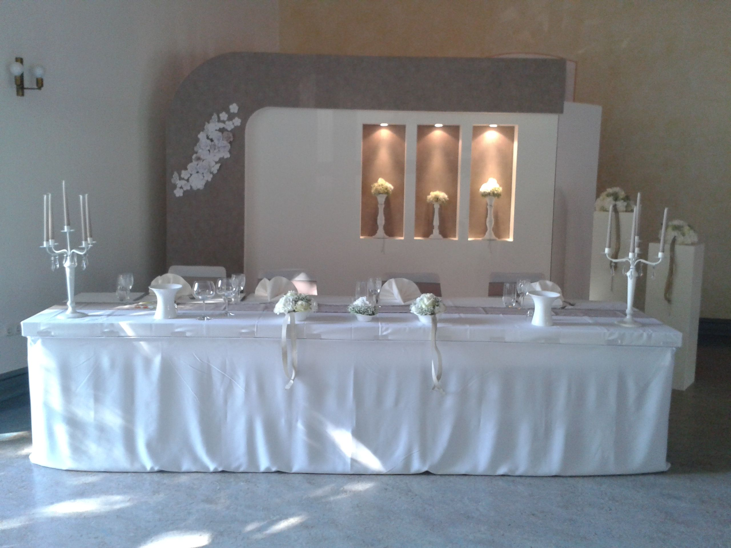 Hochzeitsdeko Taupe Weiss Hochzeit Pinterest Wedding Wedding