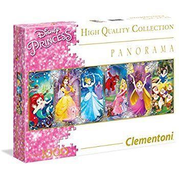 12 Clementoni Panorama Princess Quot Puzzle 1000 Piece Amazon Disney Puzzles Puzzle Games For Kids Unique Puzzles