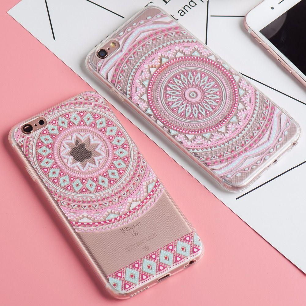 Colorful Mandala Case For iPhone | Mandala iphone case, Mandala ...