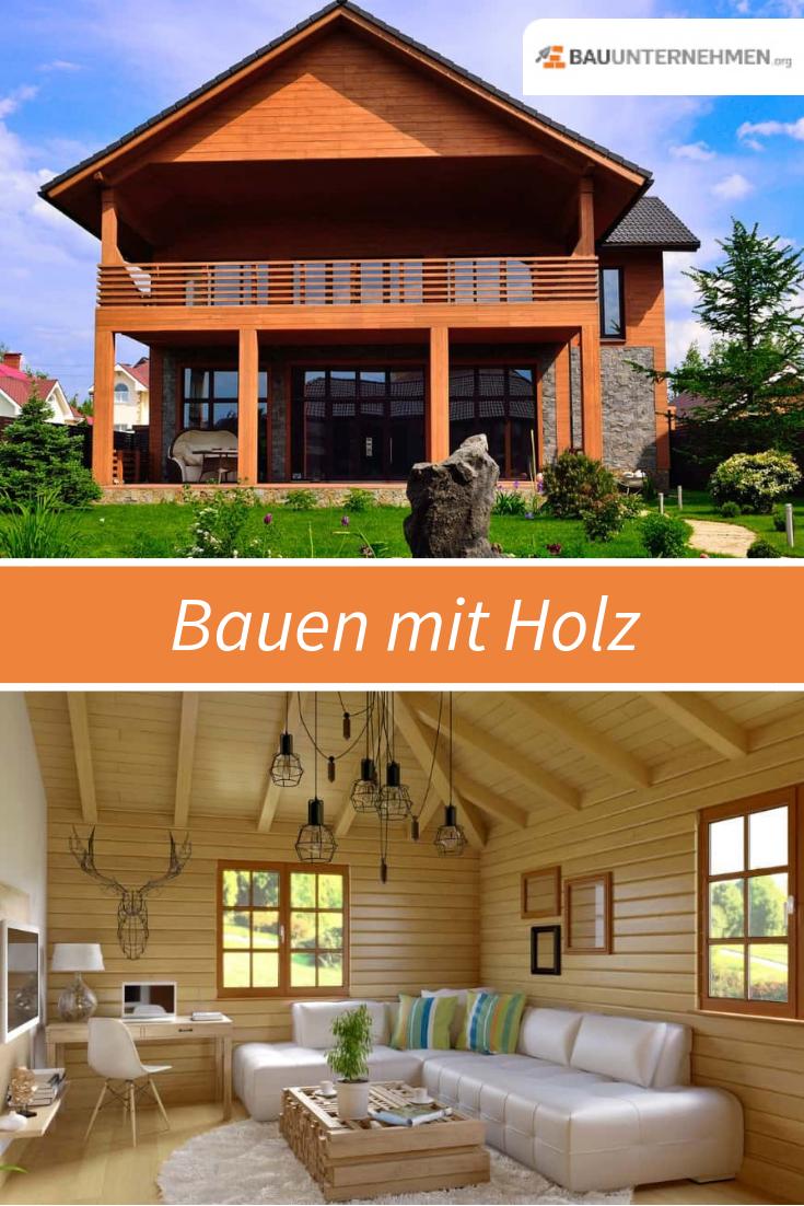 Bauen mit Holz » Vorteile, Möglichkeiten, Kosten (mit