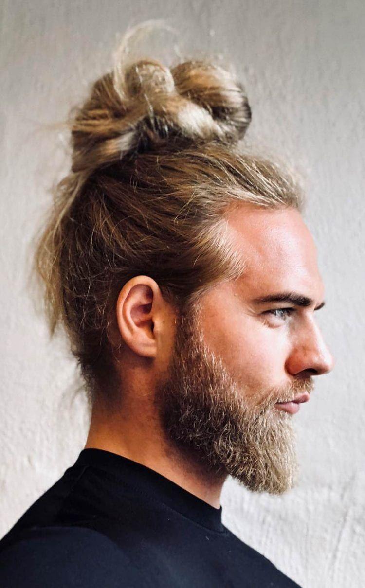 7 Types Of Man Bun Hairstyles Gallery How To Barte Und Haare Haar Brotchen Hoch Knoten Frisuren