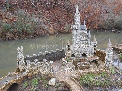 Magical miniature garden in calhoun ga local places and for Landscaping rocks savannah ga