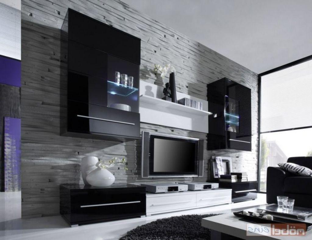 Wohnzimmer Wand Design Awesome Wohnzimmer Tv Wand Modern