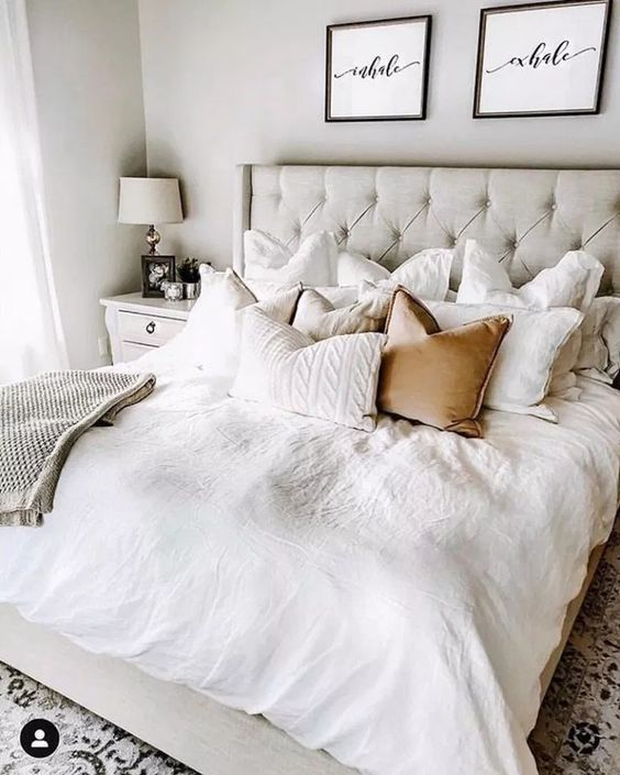 34 Wonderful Decoration Ideas to Create Your Own Cozy Bedroom! – Page 3 of 7 – V…