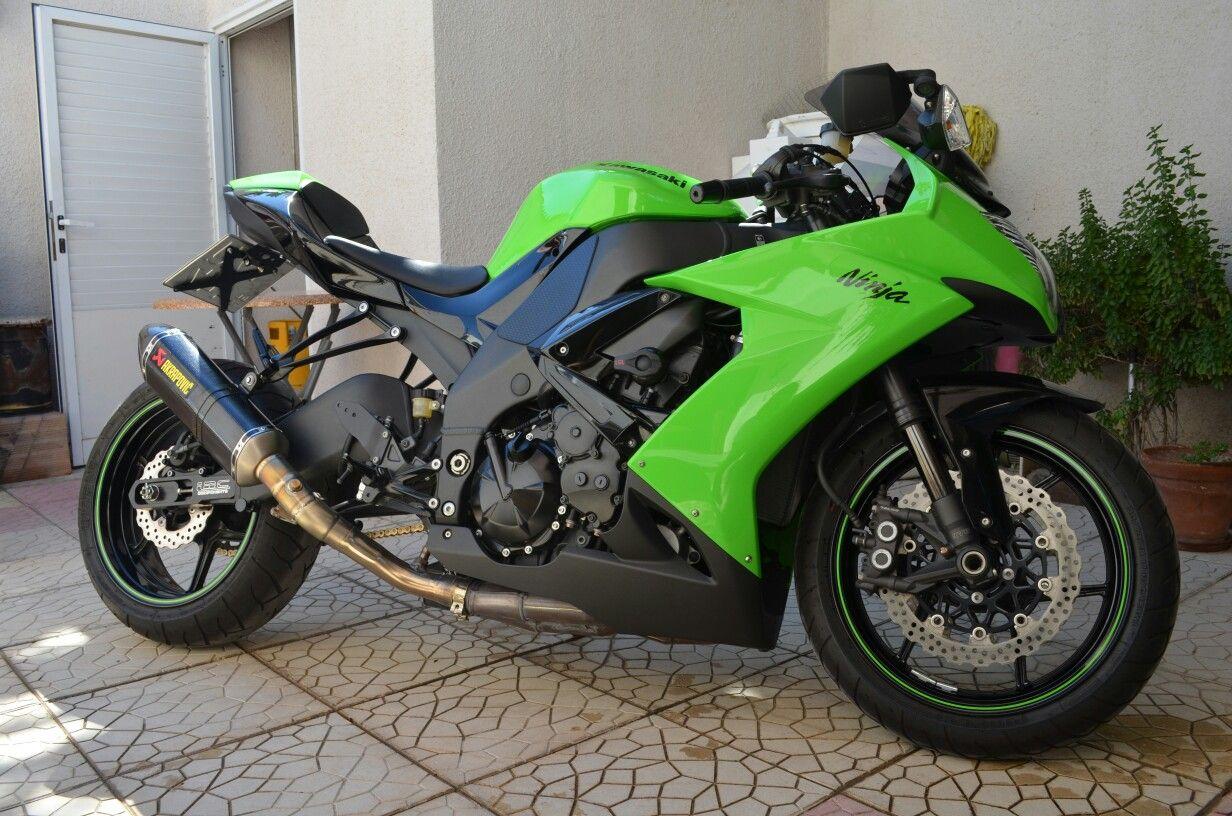 Kawasaki Ninja ZX10R Custom Stretched Lowered