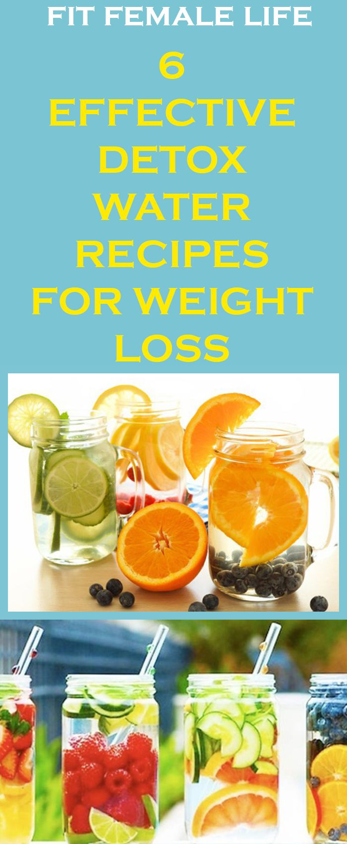 EFFECTIVE DETOX WATER RECIPES FOR WEIGHT LOSS  Home Remedies