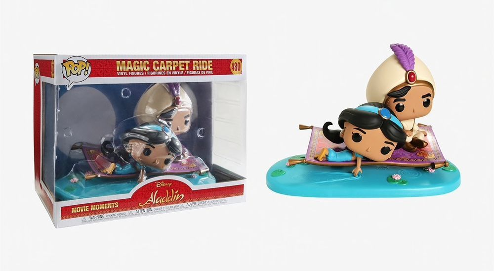 Magic Carpet Ride #35760 Funko POP Aladdin Movie Moments