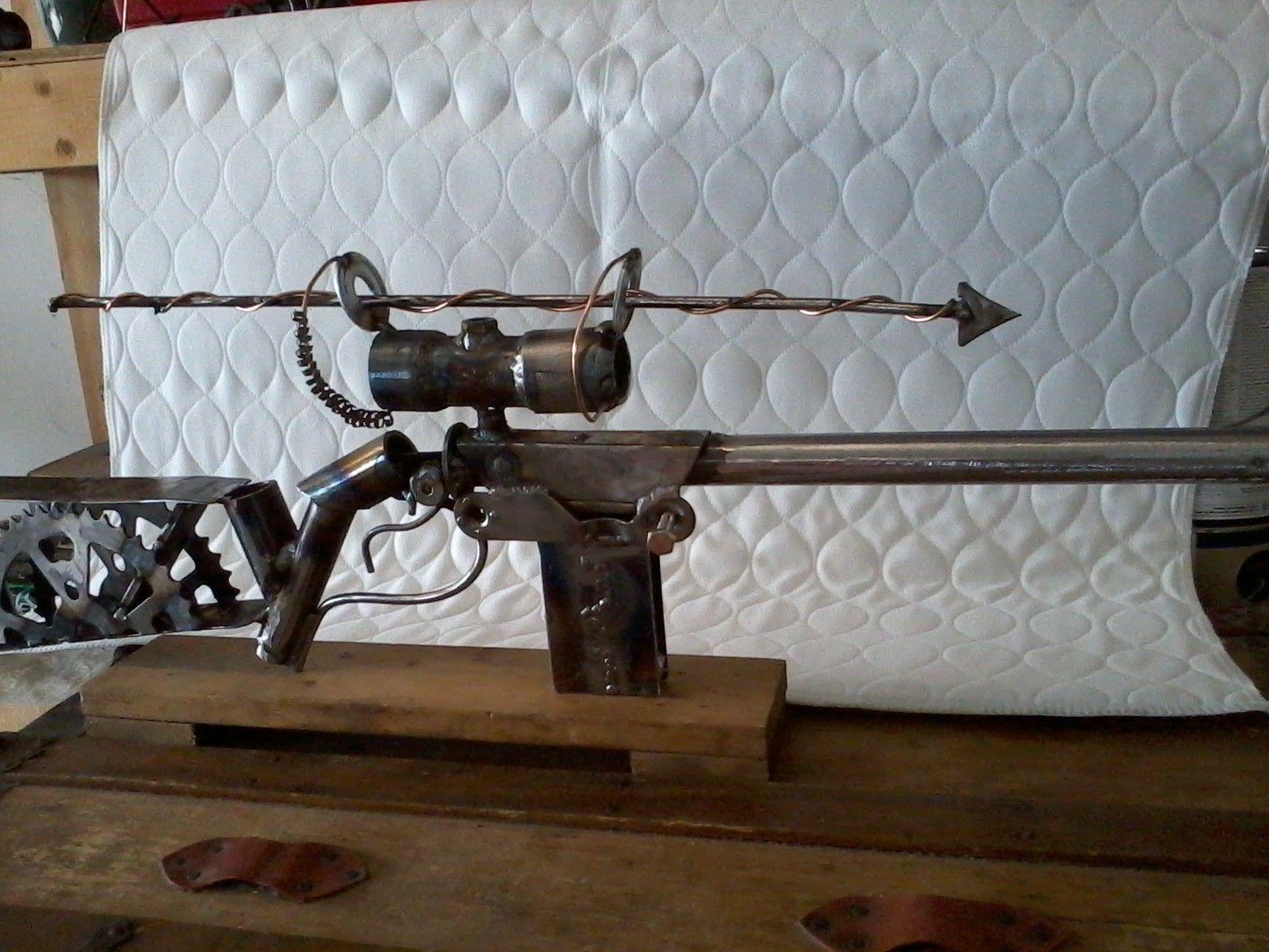"""Fred Bear"" scrap metal gun!!!  by 518 Designs-"