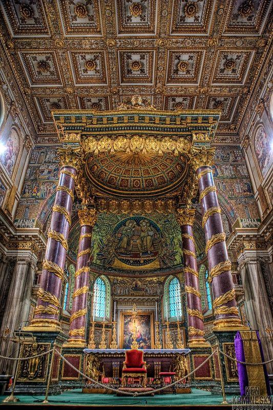 The Papal Basilica of Saint Mary Major (Italian: Basilica Papale di Santa Maria Maggiore, Latin: Basilica Sanctae Mariae Majoris ad Nives), is an ancient Roman Catholic Marian basilica of Rome. It is one of the four major or four papal basilicas.