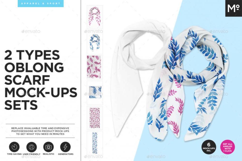 Download 23 Best Free Designer Scarf Mockup Psd Template Mockup Wellness Design Oblong Scarf