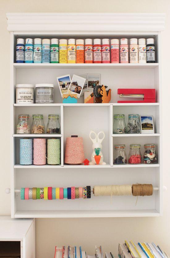Craft Room Organization Craft Room Shelves Craft Room Organization Room Organization