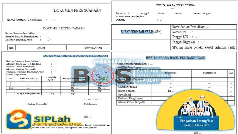 Format Bukti Pelaporan Pengadaan Barang Jasa Oleh Sekolah Berserta Penjelasan Pendidikan Sekolah Surat