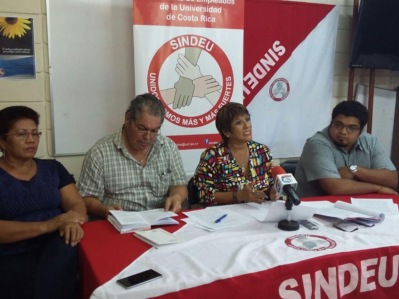 UCR y sindicato varados en negociación de Convención Colectiva